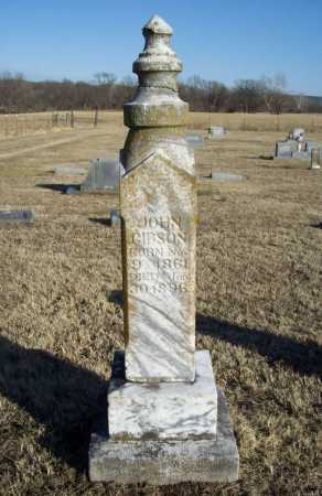 GIBSON, JOHN - Washington County, Arkansas | JOHN GIBSON - Arkansas Gravestone Photos