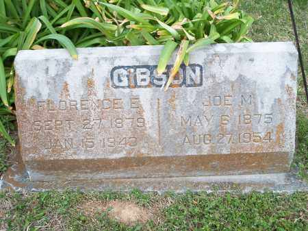 GIBSON, FLORENCE E. - Washington County, Arkansas | FLORENCE E. GIBSON - Arkansas Gravestone Photos