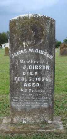 GIBSON, JAMES W. - Washington County, Arkansas | JAMES W. GIBSON - Arkansas Gravestone Photos