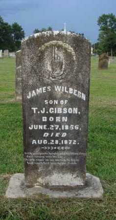 GIBSON, JAMES WILBERN - Washington County, Arkansas | JAMES WILBERN GIBSON - Arkansas Gravestone Photos