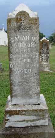 GIBSON, SARAH H. - Washington County, Arkansas | SARAH H. GIBSON - Arkansas Gravestone Photos