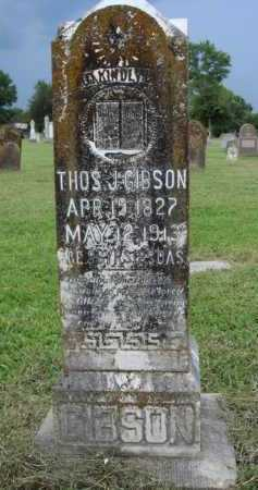GIBSON, THOMAS J. - Washington County, Arkansas | THOMAS J. GIBSON - Arkansas Gravestone Photos
