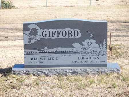 GIFFORD, LORADEAN - Washington County, Arkansas | LORADEAN GIFFORD - Arkansas Gravestone Photos