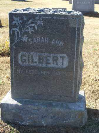 GILBERT, SARAH ANN - Washington County, Arkansas | SARAH ANN GILBERT - Arkansas Gravestone Photos