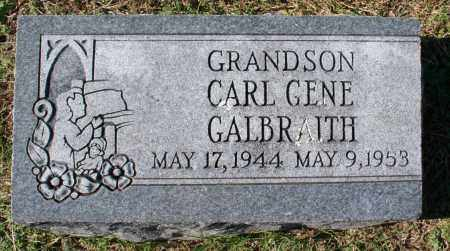 GALBRAITH, CARL GENE - Washington County, Arkansas | CARL GENE GALBRAITH - Arkansas Gravestone Photos