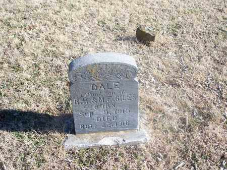 GILES, DALE - Washington County, Arkansas | DALE GILES - Arkansas Gravestone Photos