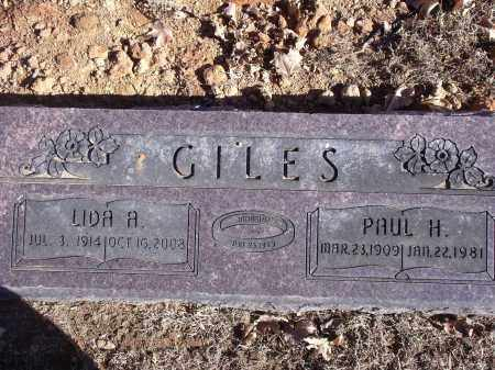 GILES, PAUL HENRY - Washington County, Arkansas | PAUL HENRY GILES - Arkansas Gravestone Photos