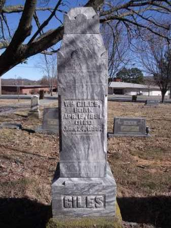 GILES, WILLIAM - Washington County, Arkansas | WILLIAM GILES - Arkansas Gravestone Photos