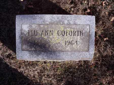 GOFORTH, FLO ANN - Washington County, Arkansas | FLO ANN GOFORTH - Arkansas Gravestone Photos