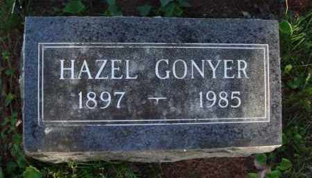 GONYER, HAZEL - Washington County, Arkansas | HAZEL GONYER - Arkansas Gravestone Photos