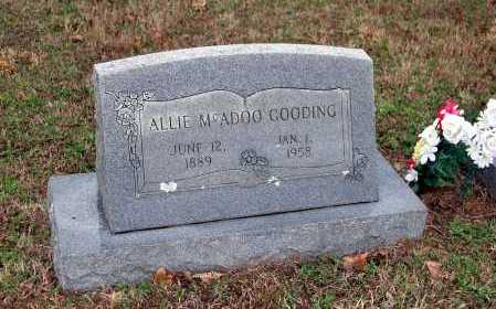 GOODING, ALLIE - Washington County, Arkansas | ALLIE GOODING - Arkansas Gravestone Photos