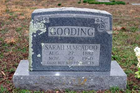 MCADOO GOODING, SARAH M. - Washington County, Arkansas | SARAH M. MCADOO GOODING - Arkansas Gravestone Photos