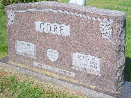 GORE, JAMES W. - Washington County, Arkansas | JAMES W. GORE - Arkansas Gravestone Photos