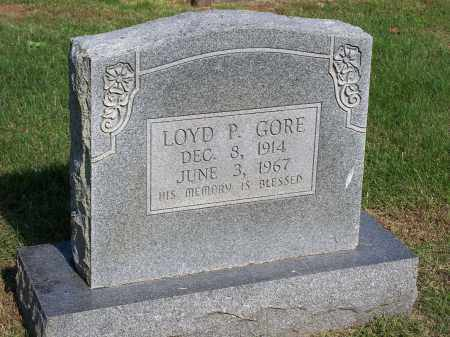 GORE, LOYD P. - Washington County, Arkansas | LOYD P. GORE - Arkansas Gravestone Photos