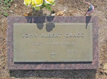GRAGG (VETERAN), JOHN ALBERT - Washington County, Arkansas | JOHN ALBERT GRAGG (VETERAN) - Arkansas Gravestone Photos