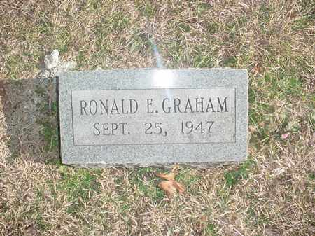 GRAHAM, RONALD E. - Washington County, Arkansas | RONALD E. GRAHAM - Arkansas Gravestone Photos