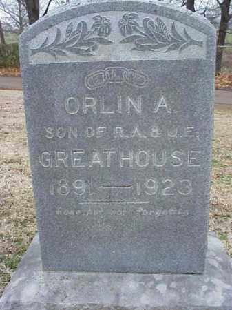 GREATHOUSE, ORLIN A - Washington County, Arkansas | ORLIN A GREATHOUSE - Arkansas Gravestone Photos