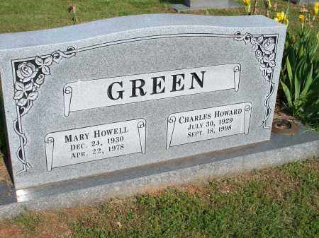 GREEN, CHARLES HOWARD - Washington County, Arkansas | CHARLES HOWARD GREEN - Arkansas Gravestone Photos