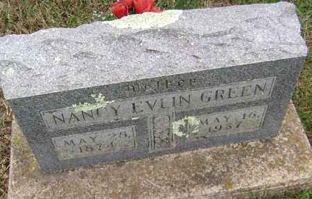 GREEN, NANCY EVLIN - Washington County, Arkansas | NANCY EVLIN GREEN - Arkansas Gravestone Photos
