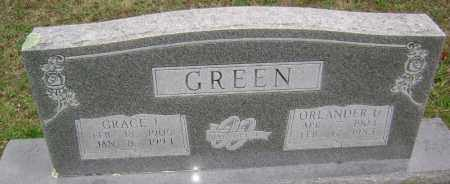 GREEN, ORLANDER U - Washington County, Arkansas | ORLANDER U GREEN - Arkansas Gravestone Photos
