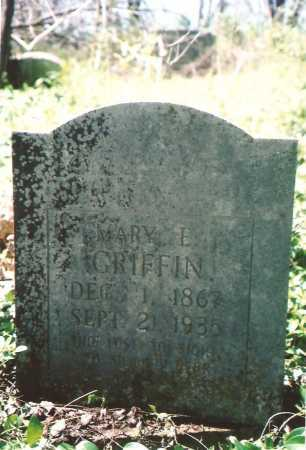 GRIFFIN, MARY E - Washington County, Arkansas | MARY E GRIFFIN - Arkansas Gravestone Photos