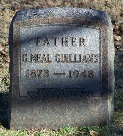 GUILLIAMS, G. NEAL - Washington County, Arkansas | G. NEAL GUILLIAMS - Arkansas Gravestone Photos