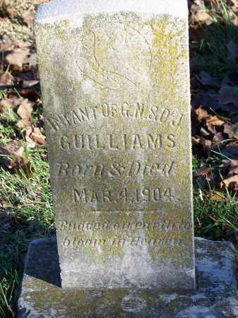 GUILLIAMS, INFANT - Washington County, Arkansas | INFANT GUILLIAMS - Arkansas Gravestone Photos