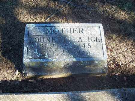 GUILLIAMS, LOUNETTIE ALICE - Washington County, Arkansas | LOUNETTIE ALICE GUILLIAMS - Arkansas Gravestone Photos