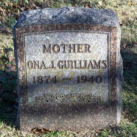 GUILLIAMS, ONA J. - Washington County, Arkansas | ONA J. GUILLIAMS - Arkansas Gravestone Photos