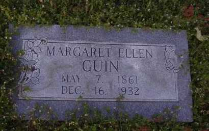 GUIN, MARGARET ELLEN - Washington County, Arkansas | MARGARET ELLEN GUIN - Arkansas Gravestone Photos