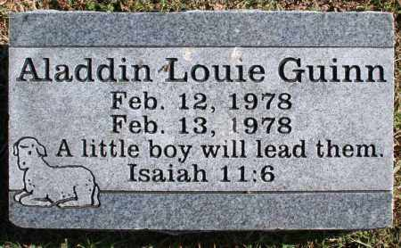 GUINN, ALADDIN LOUIE - Washington County, Arkansas | ALADDIN LOUIE GUINN - Arkansas Gravestone Photos