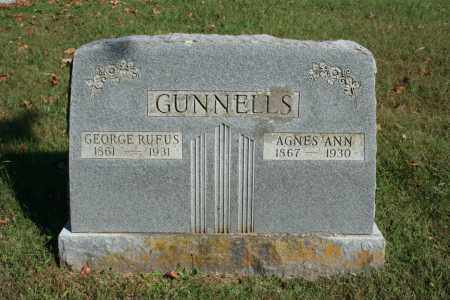 GUNNELLS, AGNES ANN - Washington County, Arkansas | AGNES ANN GUNNELLS - Arkansas Gravestone Photos