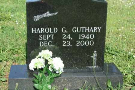 GUTHARY, HAROLD G. - Washington County, Arkansas | HAROLD G. GUTHARY - Arkansas Gravestone Photos