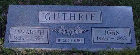 GUTHRIE, JOHN - Washington County, Arkansas | JOHN GUTHRIE - Arkansas Gravestone Photos