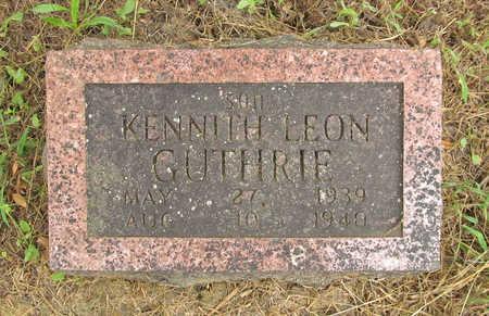 GUTHRIE, KENNETH LEON - Washington County, Arkansas | KENNETH LEON GUTHRIE - Arkansas Gravestone Photos