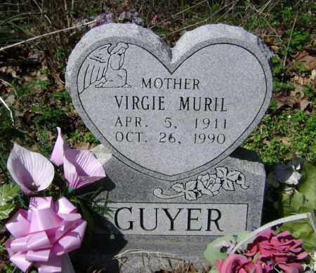 HUTCHENS GUYER, VIRGIE MURIEL - Washington County, Arkansas | VIRGIE MURIEL HUTCHENS GUYER - Arkansas Gravestone Photos