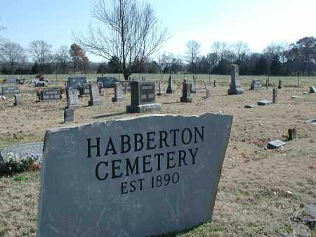 *HABBERTON CEMETERY VIEW,  - Washington County, Arkansas |  *HABBERTON CEMETERY VIEW - Arkansas Gravestone Photos