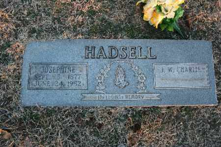 HADSELL, JOSEPHINE - Washington County, Arkansas | JOSEPHINE HADSELL - Arkansas Gravestone Photos