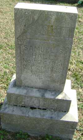 HALE, SAMUEL S. - Washington County, Arkansas | SAMUEL S. HALE - Arkansas Gravestone Photos
