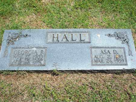 HALL, GEORGIA P. - Washington County, Arkansas | GEORGIA P. HALL - Arkansas Gravestone Photos
