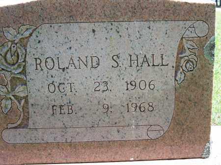 HALL, ROLAND S. - Washington County, Arkansas | ROLAND S. HALL - Arkansas Gravestone Photos