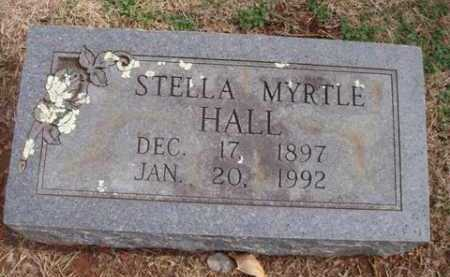 HALL, STELLA MYRTLE - Washington County, Arkansas | STELLA MYRTLE HALL - Arkansas Gravestone Photos