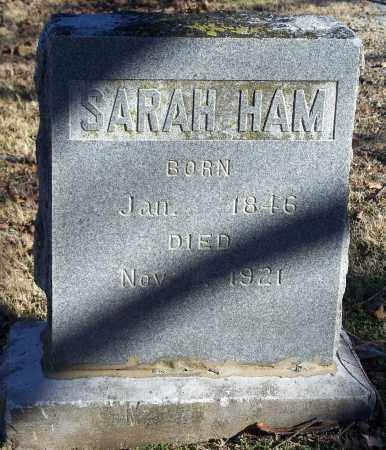 HAM, SARAH - Washington County, Arkansas | SARAH HAM - Arkansas Gravestone Photos