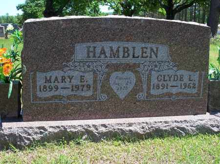 HAMBLEN, MARY E. - Washington County, Arkansas | MARY E. HAMBLEN - Arkansas Gravestone Photos
