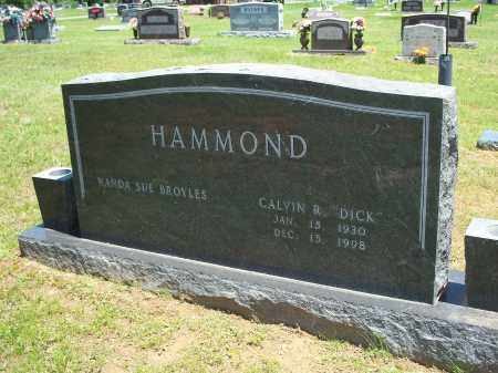 "HAMMOND, CALVIN R ""DICK"" - Washington County, Arkansas 
