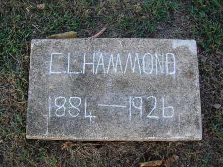 HAMMOND, C. L. - Washington County, Arkansas | C. L. HAMMOND - Arkansas Gravestone Photos