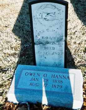 HANNA, OWEN O. - Washington County, Arkansas | OWEN O. HANNA - Arkansas Gravestone Photos