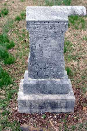 HANNAH, SARAH JOSEPHINE - Washington County, Arkansas | SARAH JOSEPHINE HANNAH - Arkansas Gravestone Photos