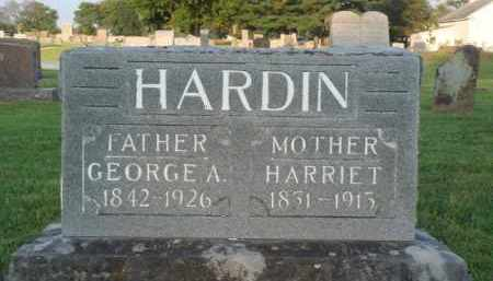 HARDIN, HARRIET - Washington County, Arkansas | HARRIET HARDIN - Arkansas Gravestone Photos