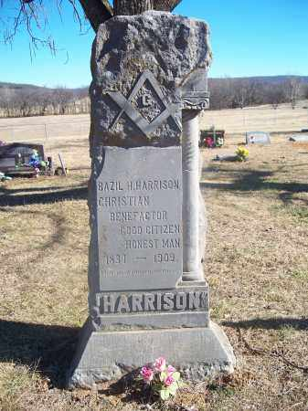 HARRISON, BAZIL H. - Washington County, Arkansas | BAZIL H. HARRISON - Arkansas Gravestone Photos
